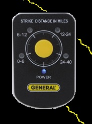 General Tools LD7 Personal Lightning Detector